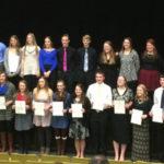 2016-2017 Rushford-Peterson National Honor Society