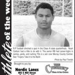 Athlete of the Week – Noah Carlson