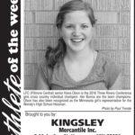Athlete of the Week – Kiera Olson