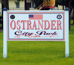 Ostrander to ban dogs from City Park