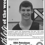 Athlete of the Week – Cole Schwichtenberg