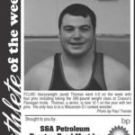 Athlete of the Week – Jacob Thomas