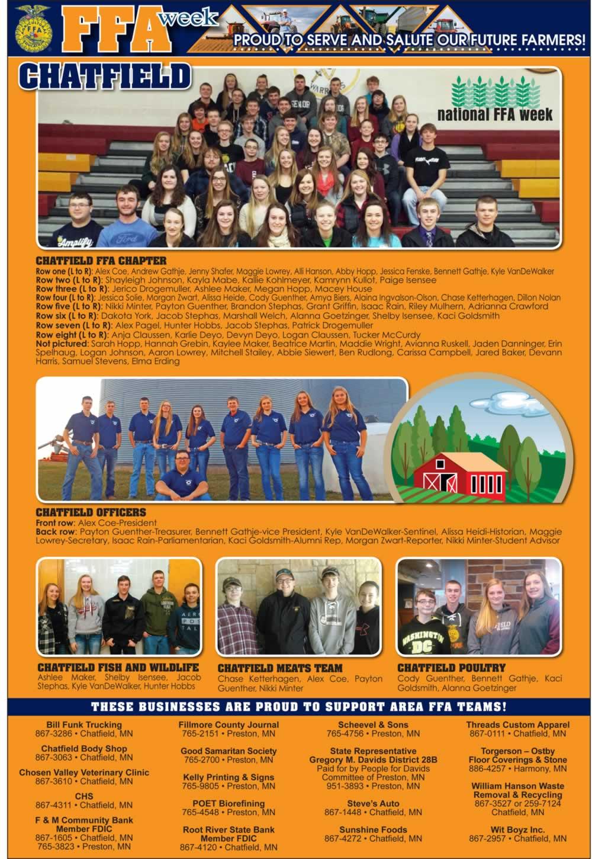 Fillmore County Journal - FFA Week