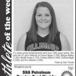 Fillmore County Journal Athlete of the Week ~ Kendyl Bennett
