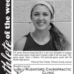 Fillmore County Journal Athlete of the Week ~ Brianna Koop