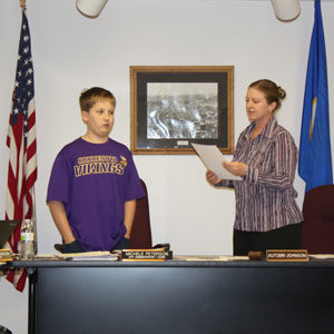 Two Lanesboro students declared Mayor for the Day