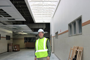 New Rushford-Peterson school building nears completion