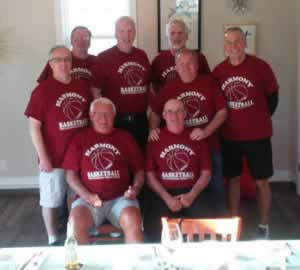 1976 Champion Harmony basketball team reunites