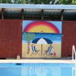 New murals brighten up Preston pool
