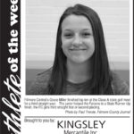 Fillmore County Journal Athlete of the Week ~ Grace Miller