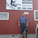 Full-time mechanic, part-time farmer enjoys working on vehicles at McCabe Repairs