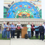 """""""Hooked on Preston"""" mural dedicated with ribbon cutting"""