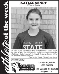 Athlete of the Week – Savannah Slafter