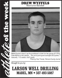 Athlete of the Week – Drew Wyffels