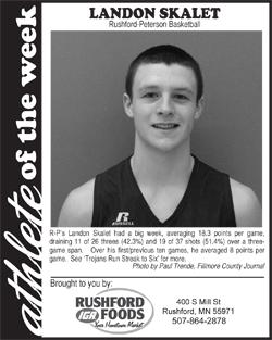 Athlete of the Week – Landon Skalet
