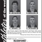 Athlete of the Week – Jake Paulson, Dawson Dahl, Ben Ansell, Payton Hahn