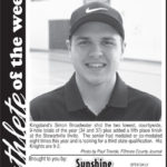 Athlete of the Week – Simon Broadwater