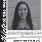 Athlete of the Week – Ashley Miner