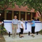 Harmony Historical Society unveils walking tour signs