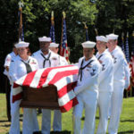 Navy Seaman First Class Joseph M. Johnson now rests in peace