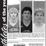 Athletes of the Week – Dawson Dahl, Jake Paulson, Landon Skalet