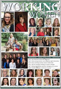Fillmore County Journal – Working Women 2018
