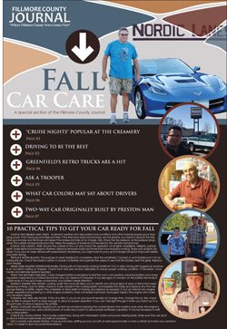 Fillmore County Journal – Fall Car Care 2018