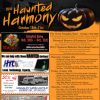 Celebrate Haunted Harmony over MEA weekend