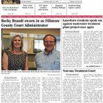 Fillmore County Journal June 10, 2019