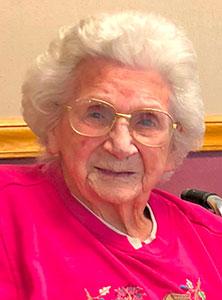 """Fillmore County Journal - Mildred """"Mim"""" Buross"""