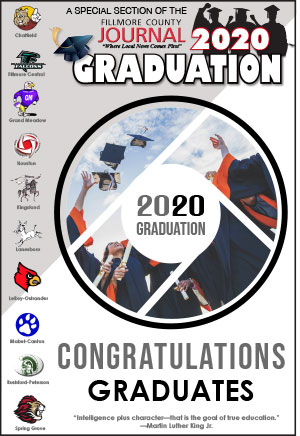 Fillmore County Journal - Graduation Section - 5.25.20