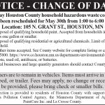 Fillmore County Journal - Houston County Notice