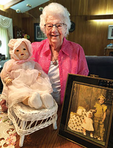 Fillmore County Journal - Harmony woman cherishes doll she won at Preston's Fourth of July celebration 84 years ago - Gloria Bergey