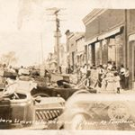"Fillmore County Journal - Historic Memories of Fillmore County ""Main Street, looking south, Fountain, Minnesota,"" at least 100 years ago"