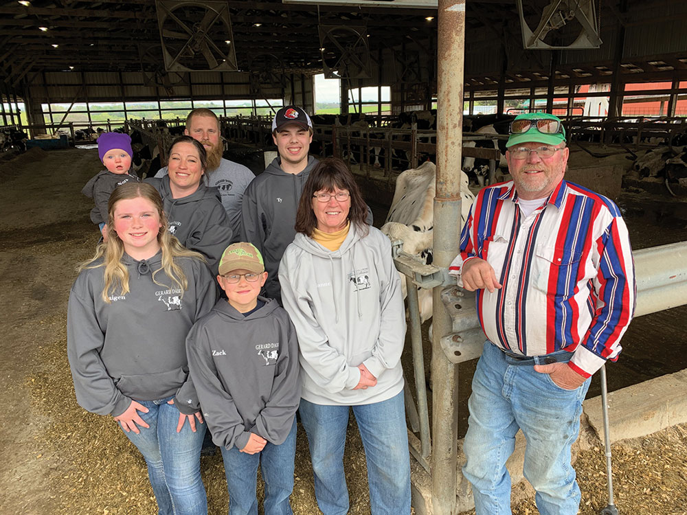 Fillmore County Journal - Wilmington Township dairy farmers keep milking through bad times and good