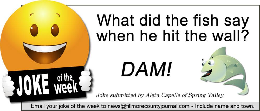Fillmore County Journal - Joke of the Week 7.20.20