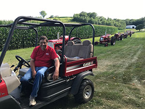 Fillmore County Journal - Linus Hammell Tractor Ride