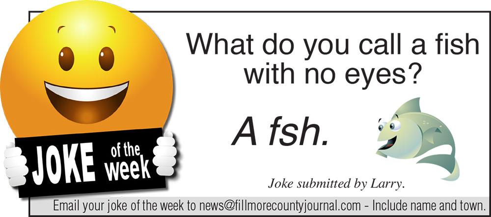 Fillmore County Journal - Joke of the Week 8/10/20
