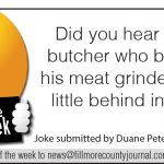 Fillmore County Journal - Joke of the Week - 8.3.20