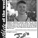 Fillmore County Journal - Athlete of the Week Garrison Hubka