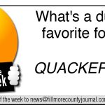Fillmore County Journal- Joke of the Week