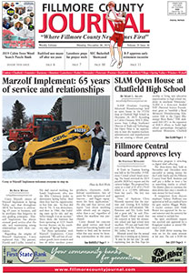 Fillmore County Journal Online Edition 12.30.19