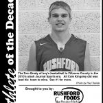 Fillmore County Journal- Athlete of the Decade Cole Kingsley