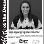 Fillmore County Journal - Athlete of the Decade - Lexi Chase