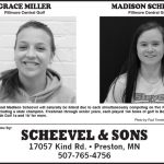 Fillmore County Journal - Athlete of the Decade - Grace Miller & Madison Scheevel
