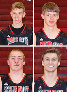 Fillmore County Journal - Grinde is Lion Most Valuable Player; Hagen, Holland also voted honors