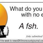Fillmore County Journal - Joke of the Week 8/10/20